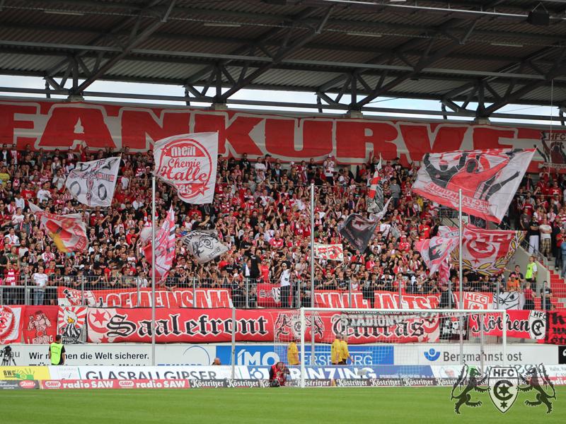9. Spieltag: Hallescher FC vs. 1.FC Heidenheim
