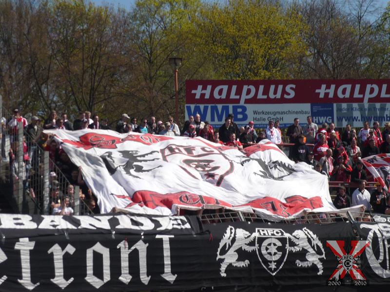 29. Spieltag: Hallescher FC vs. FC Hansa Rostock II