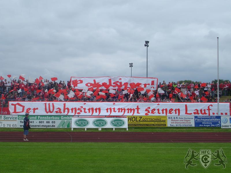 27. Spieltag: FC Eilenburg vs. Hallescher FC