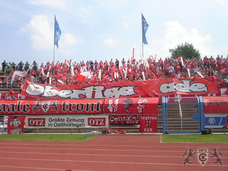 30. Spieltag: 1.FC Gera 03 vs. Hallescher FC