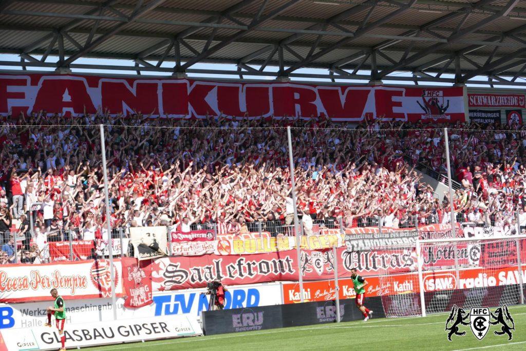 4. Spieltag: Hallescher FC vs. FC Hansa Rostock