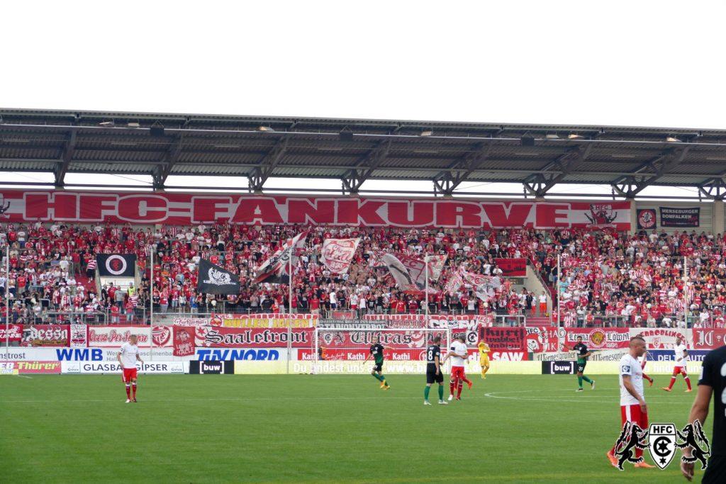 6. Spieltag: Hallescher FC vs. SC Preußen Münster
