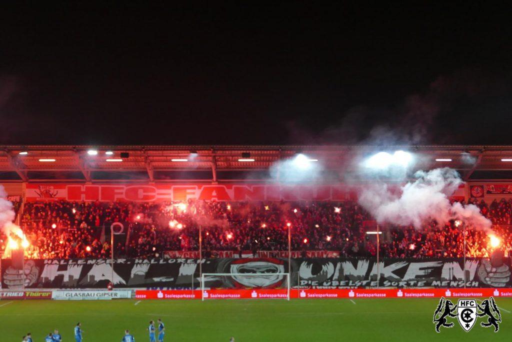 27. Spieltag: Hallescher FC vs. VfR Aalen