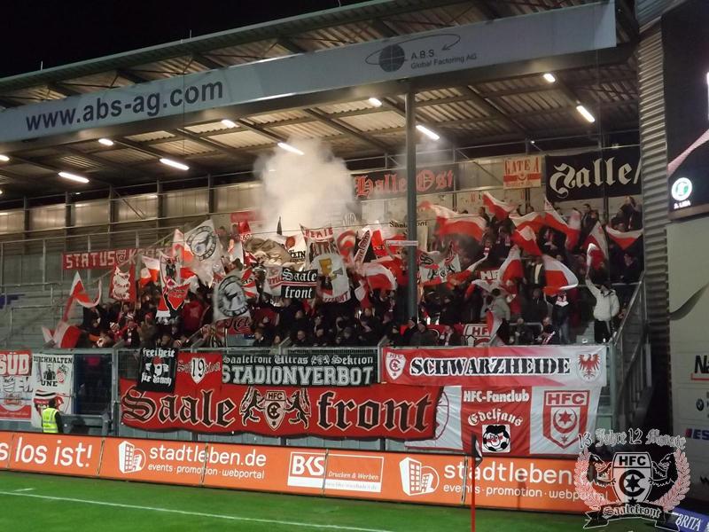 22. Spieltag: SV Wehen Wiesbaden vs. Hallescher FC