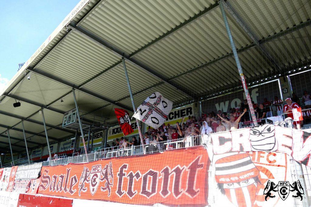 5. Spieltag: SG Sonnenhof Großaspach vs. Hallescher FC