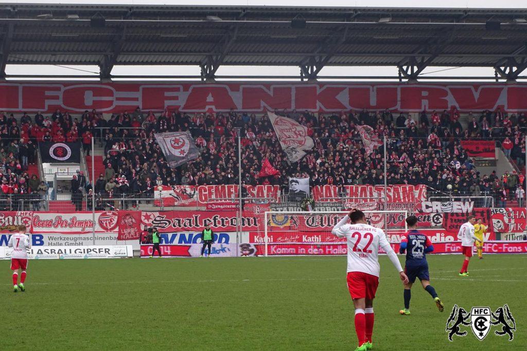 22. Spieltag: Hallescher FC vs. SSV Jahn Regensburg