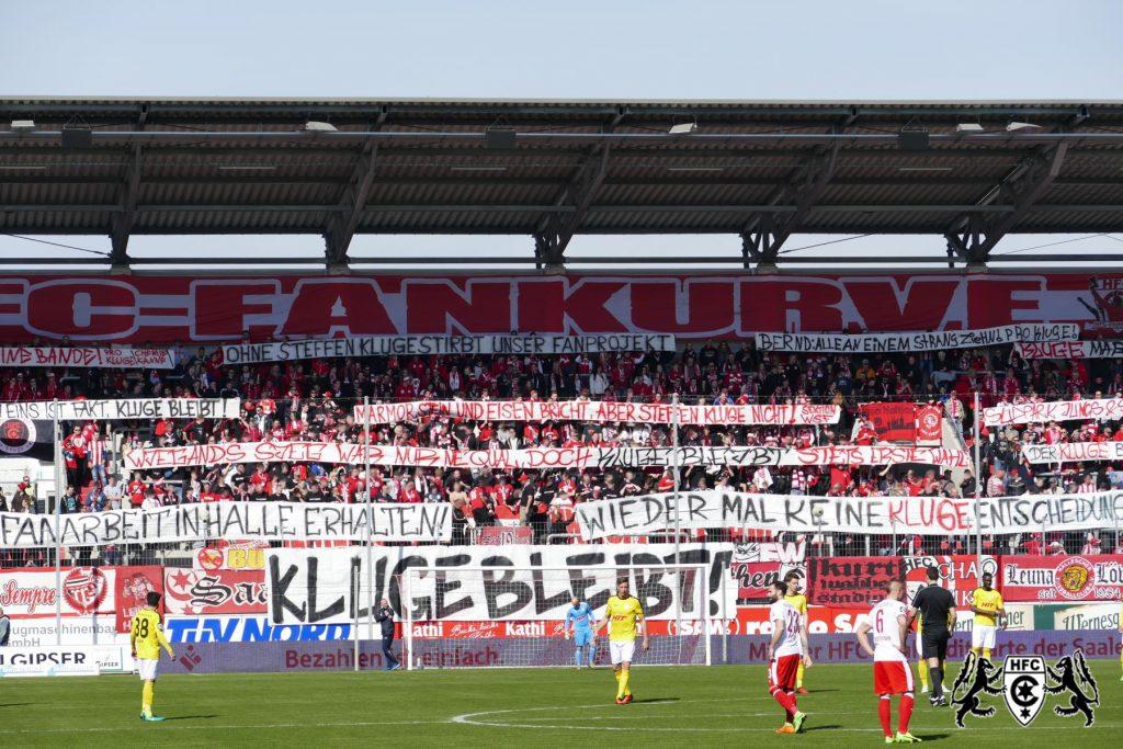 29. Spieltag: Hallescher FC vs. SC Fortuna Köln