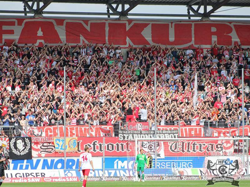 36. Spieltag: Hallescher FC vs. MSV Duisburg
