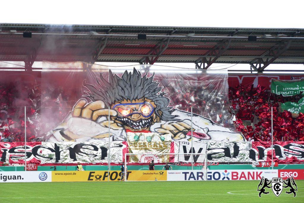DFB-Pokal, 1. Runde: Hallescher FC vs. 1.FC Kaiserslautern