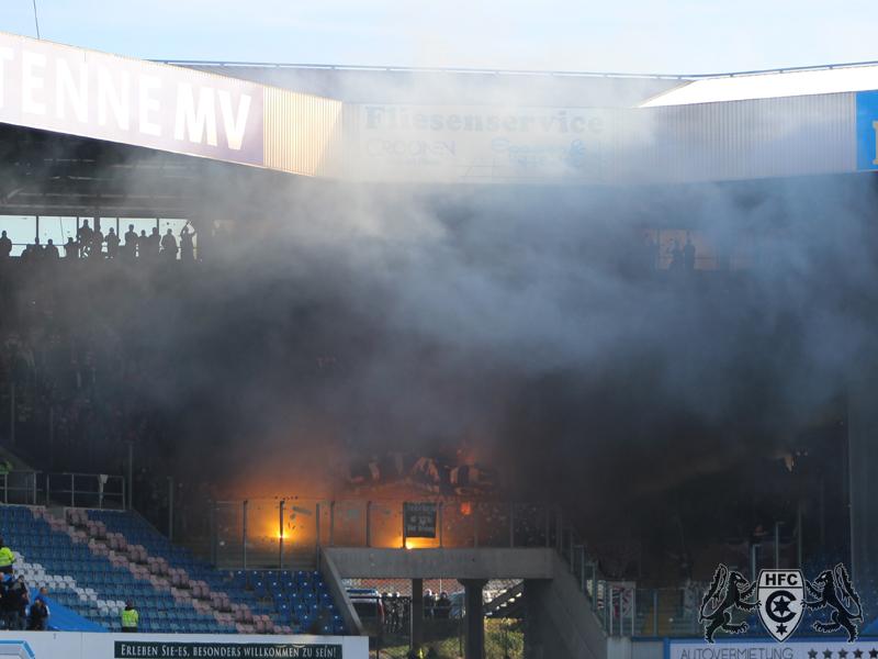 14. Spieltag: FC Hansa Rostock vs. Hallescher FC