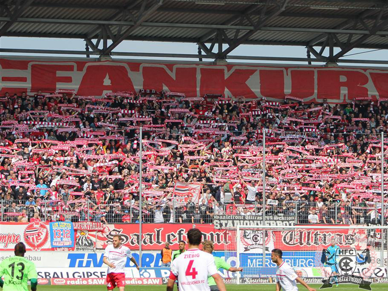 35. Spieltag: Hallescher FC vs. Stuttgarter Kickers