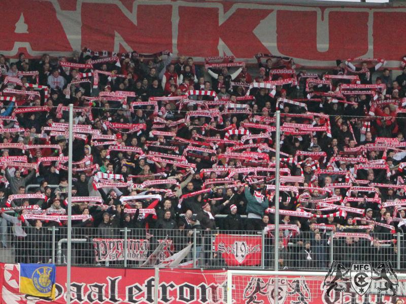 18. Spieltag: Hallescher FC vs. SC Preußen Münster
