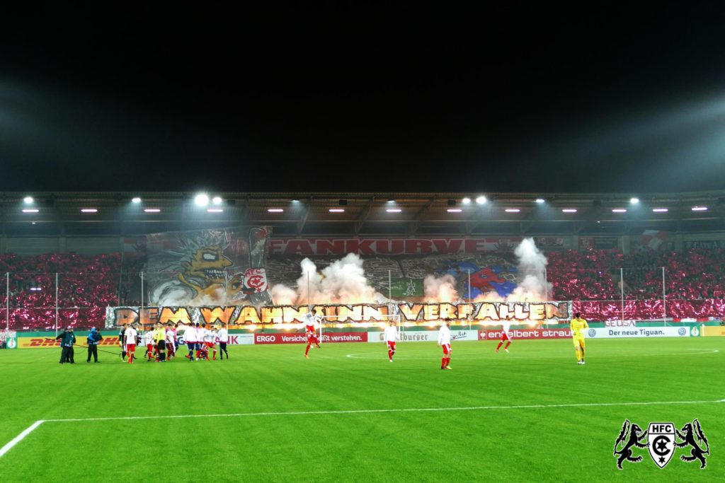 DFB-Pokal, 2. Runde: Hallescher FC vs. Hamburger SV