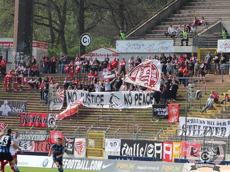 34. Spieltag: 1.FC Saarbrücken vs. Hallescher FC