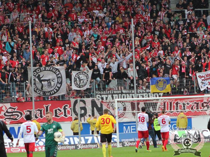 38. Spieltag: Hallescher FC vs. SV Wacker Burghausen
