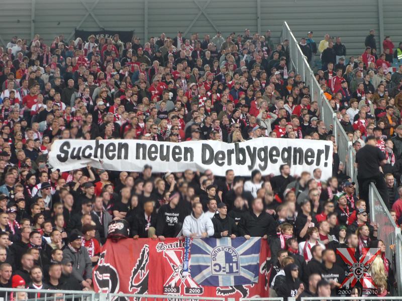26. Spieltag: 1.FC Magdeburg vs. Hallescher FC