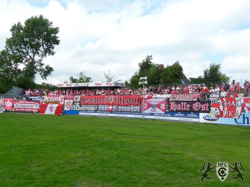 4. Spieltag: Holstein Kiel vs. Hallescher FC
