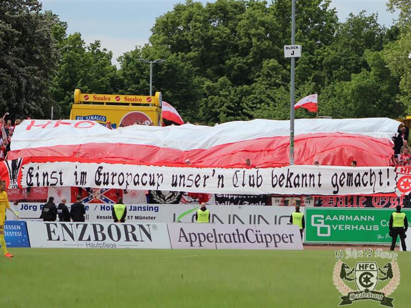 37. Spieltag: SC Preußen Münster vs. Hallescher FC
