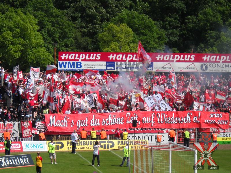 33. Spieltag: Hallescher FC vs. Hannover 96 II