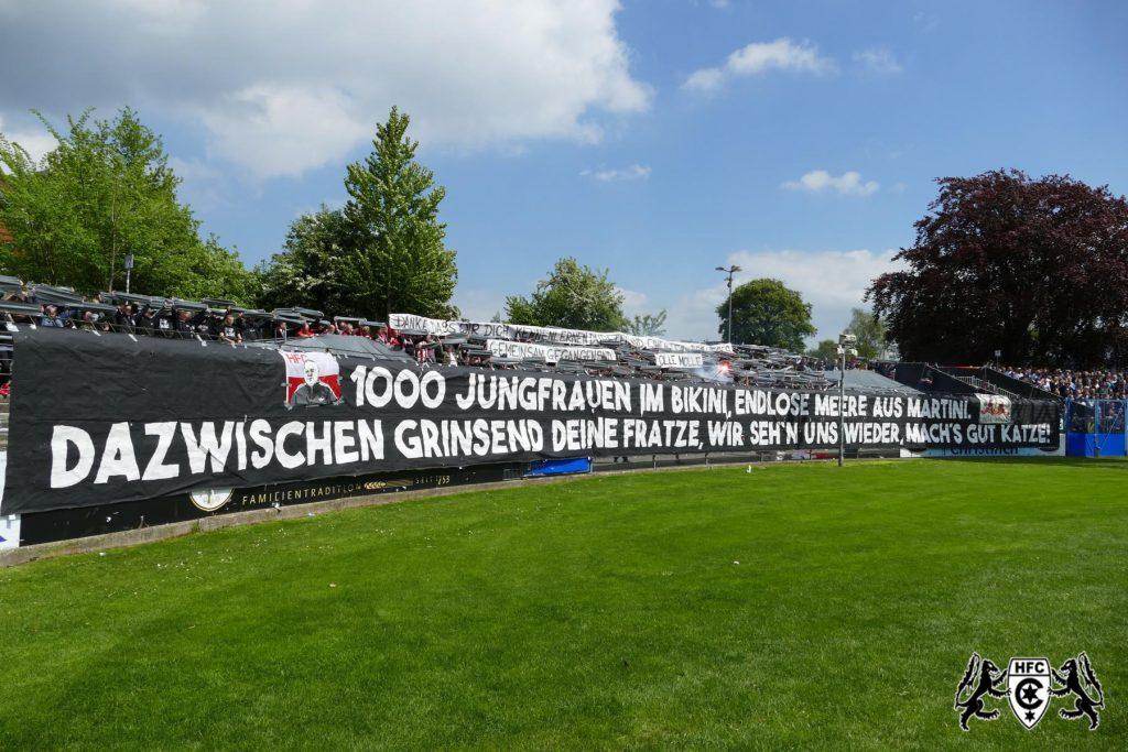 38. Spieltag: Holstein Kiel vs. Hallescher FC