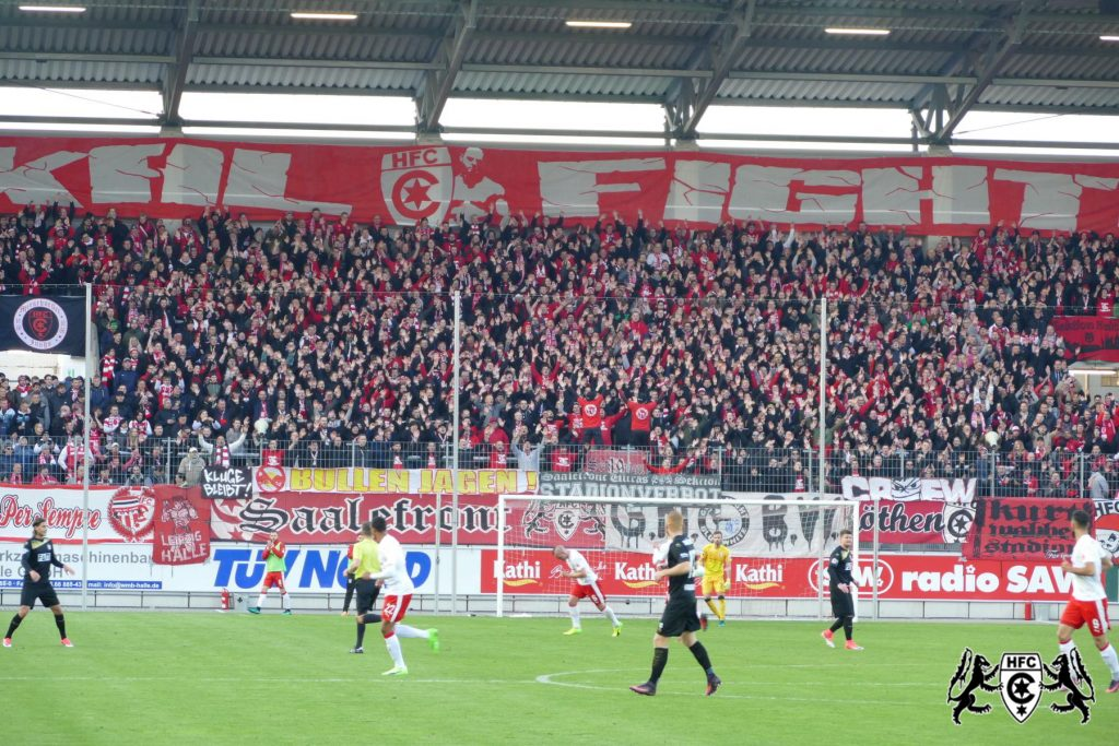 FSA-Pokal, Halbfinale: Hallescher FC vs. 1.FC Magdeburg