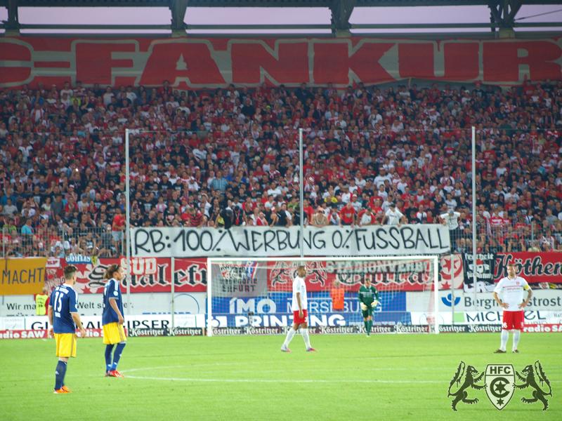 1. Spieltag: Hallescher FC vs. RB Leipzig