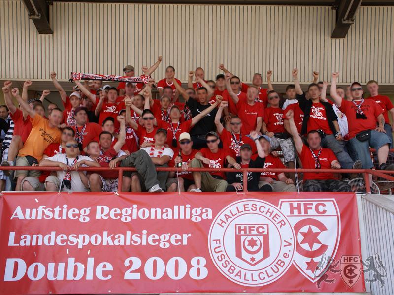 29. Spieltag: Hallescher FC vs. VfB Pößneck