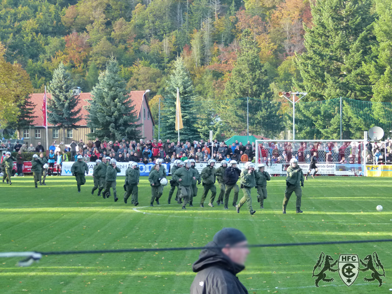 FSA-Pokal, 2. Runde: FC Einheit Wernigerode vs. Hallescher FC