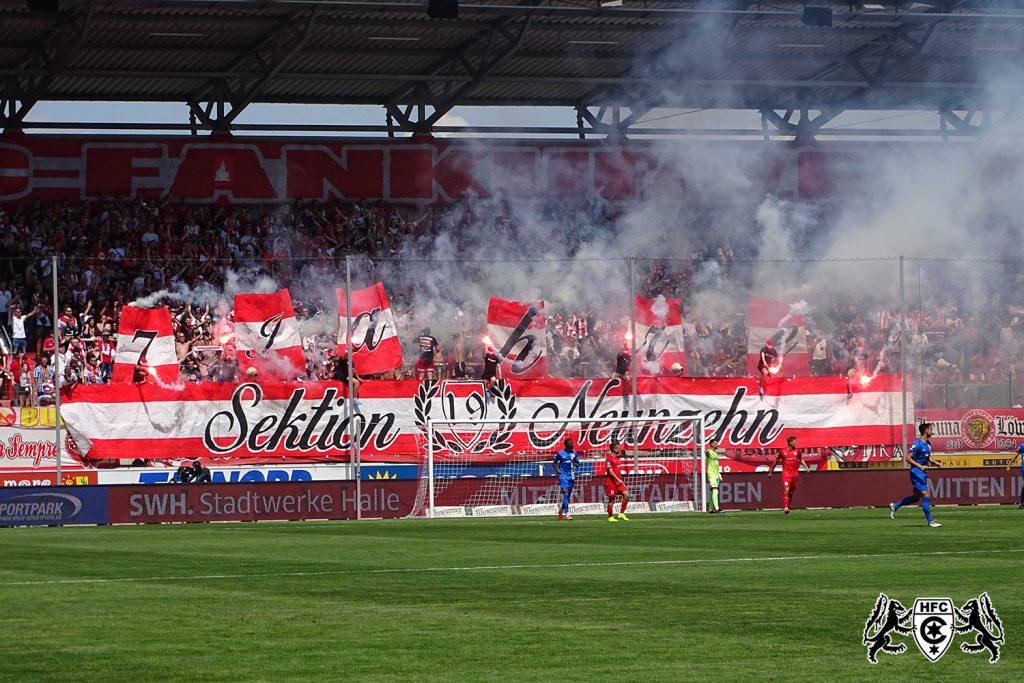2. Spieltag: Hallescher FC vs. FC Hansa Rostock