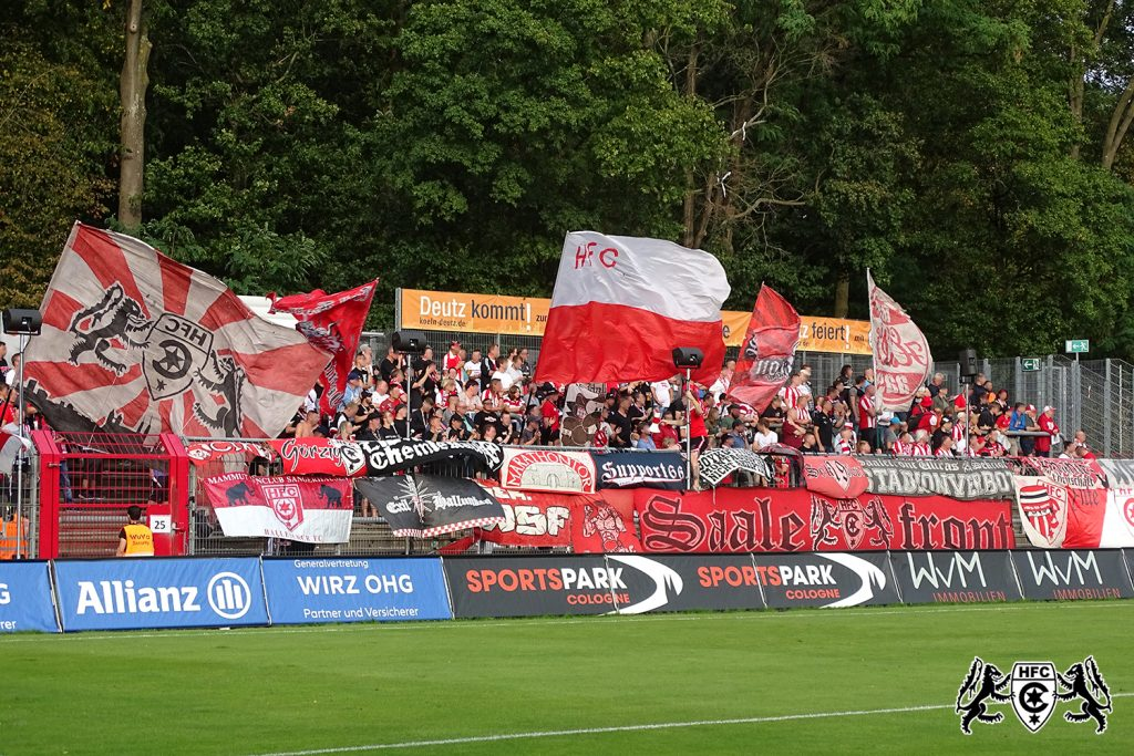3. Spieltag FC Viktoria Köln vs. Hallescher FC