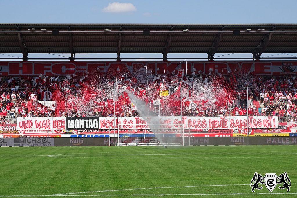 7. Spieltag: Hallescher FC vs. SG Sonnenhof Großaspach