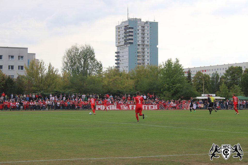 FSA-Landespokal 1. Runde: SG Buna Halle vs. Hallescher FC