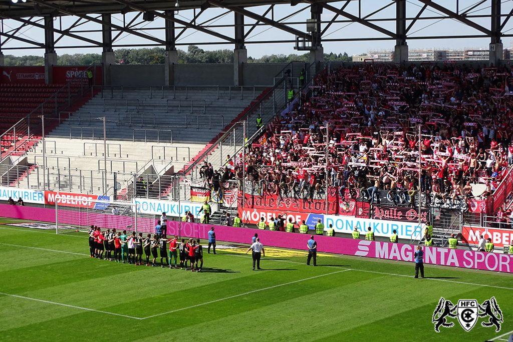 8. Spieltag: FC Ingolstadt vs. Hallescher FC