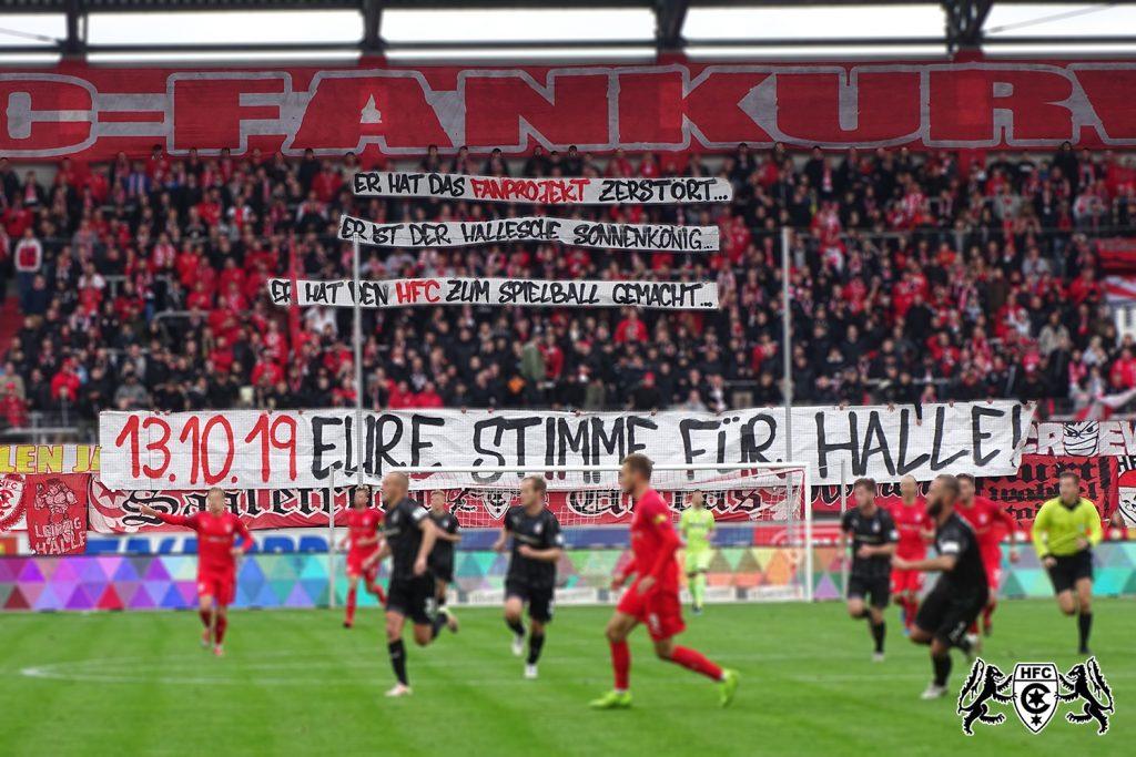 11. Spieltag: Hallescher FC vs. FSV Zwickau