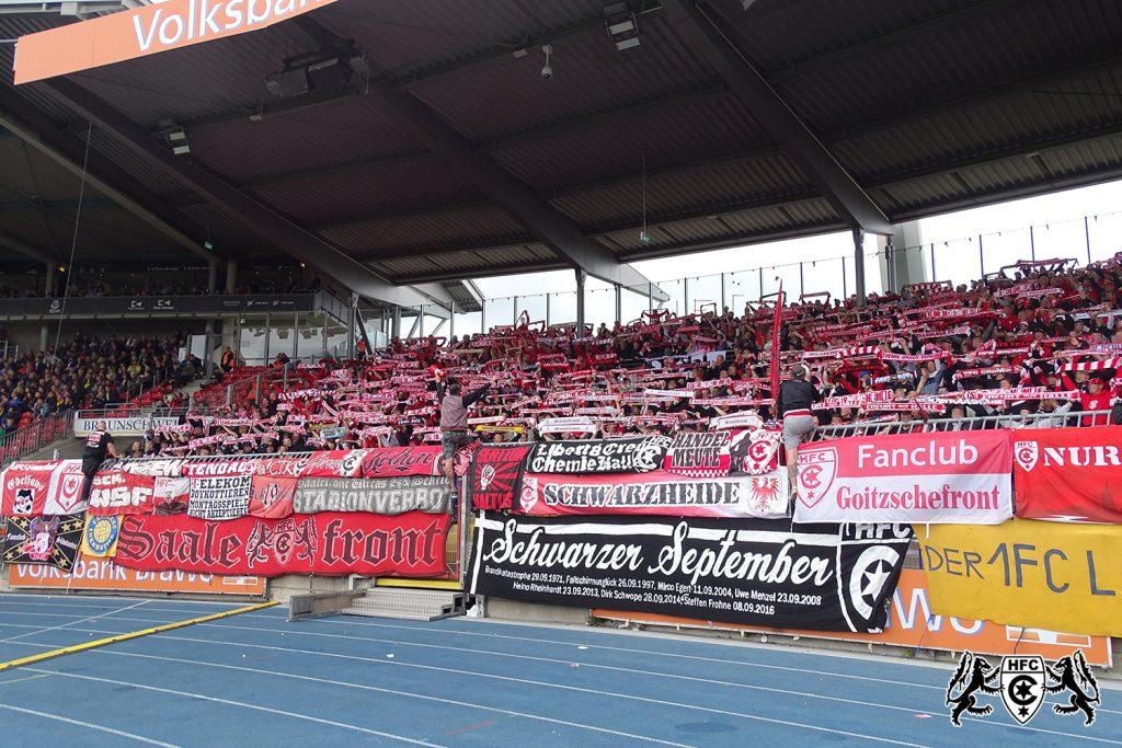 10. Spieltag: Eintracht Braunschweig vs. Hallescher FC