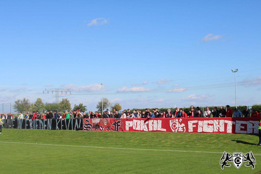 FSA-Landespokal 3. Runde: SG Rot Weiß Thalheim vs. Hallescher FC