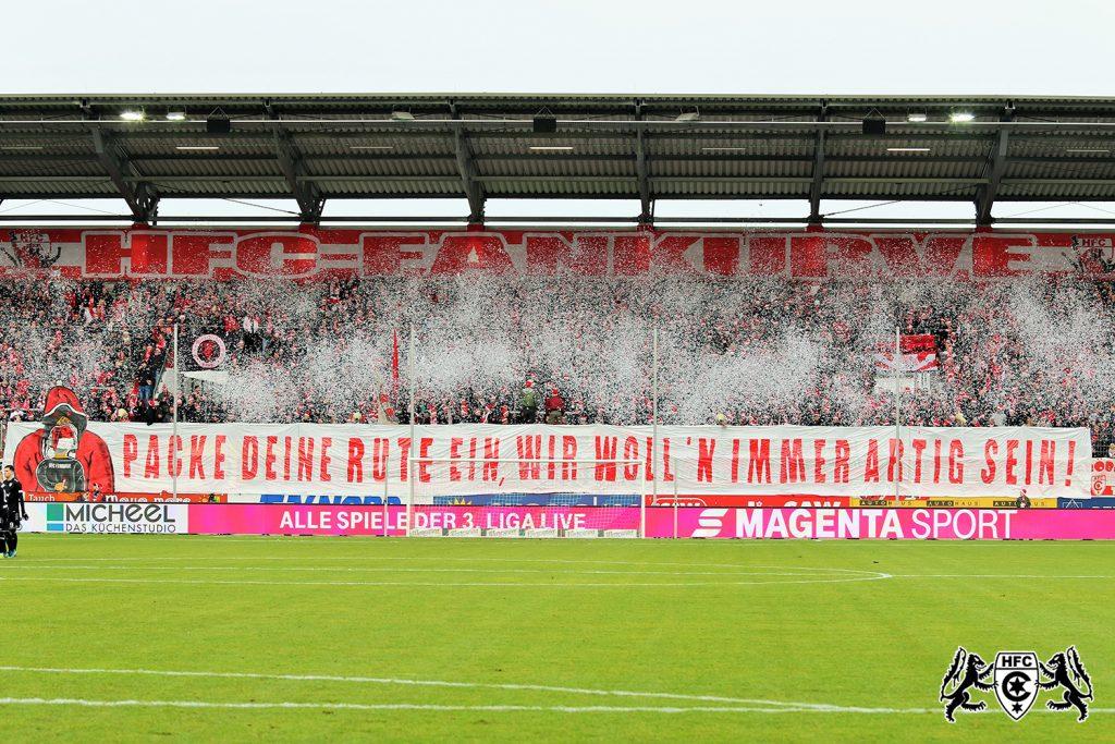 20. Spieltag: Hallescher FC vs. KFC Uerdingen