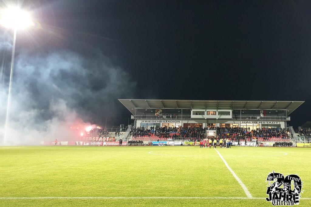 FSA Landespokal Viertelfinale: Germania Halberstadt vs. Hallescher FC