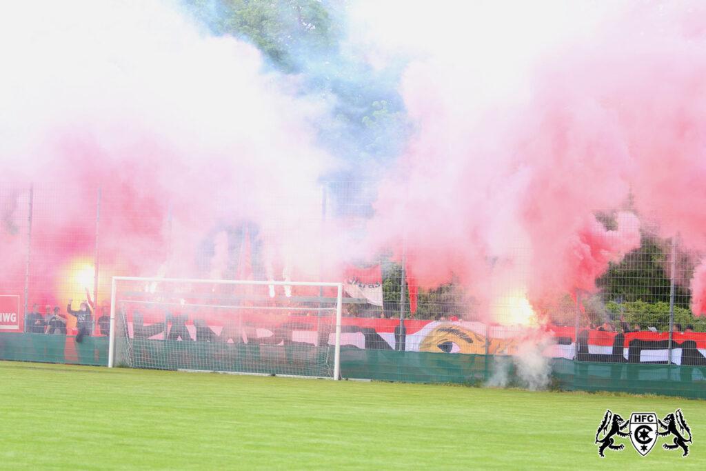 DFB Qualifikationsspiel: 1. FC Magdedorf vs. Hallescher FC